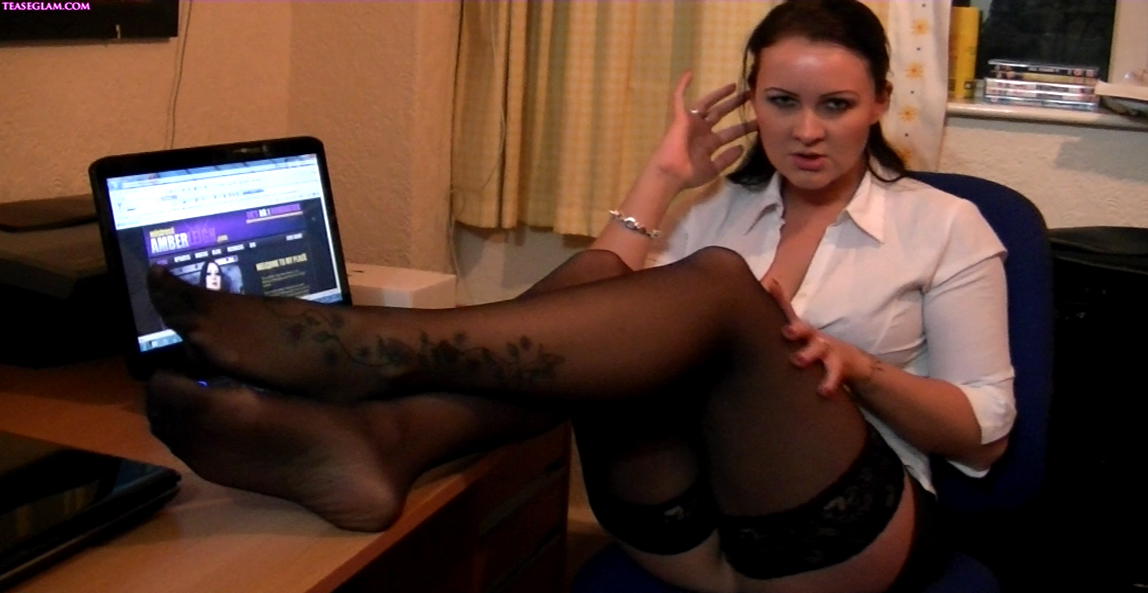 Amber Leigh naughty secretary