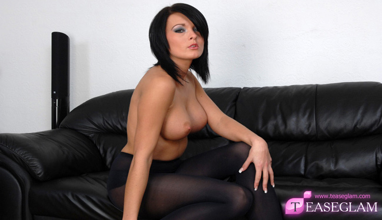 Charley in sexy black nylons