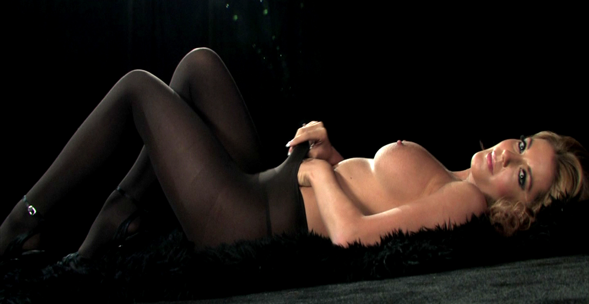 Kelly McGregor topless nylons